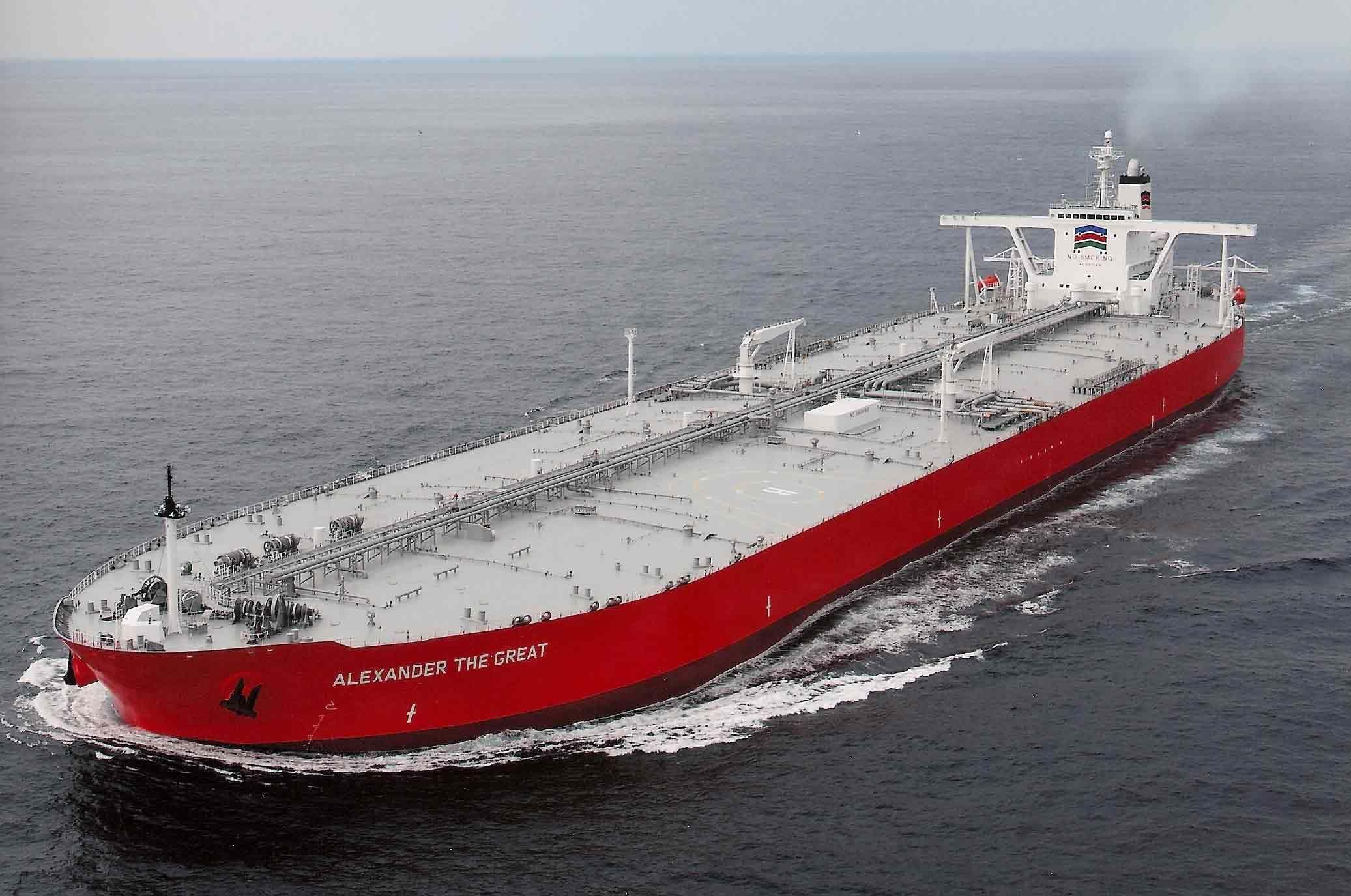 Alexander-the-Great-VLCC | Floating Beauties in 2019 | Oil