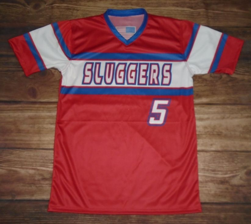 Check Out This Custom Jersey Designed By Sluggers Baseball And Created At Great American Sports In Jackson Tn Cre Custom Jerseys Jersey Design Custom Uniform
