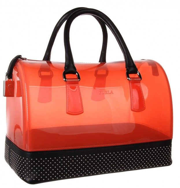 Furla Candy Bag with Studs, $498 bagwatcher.com