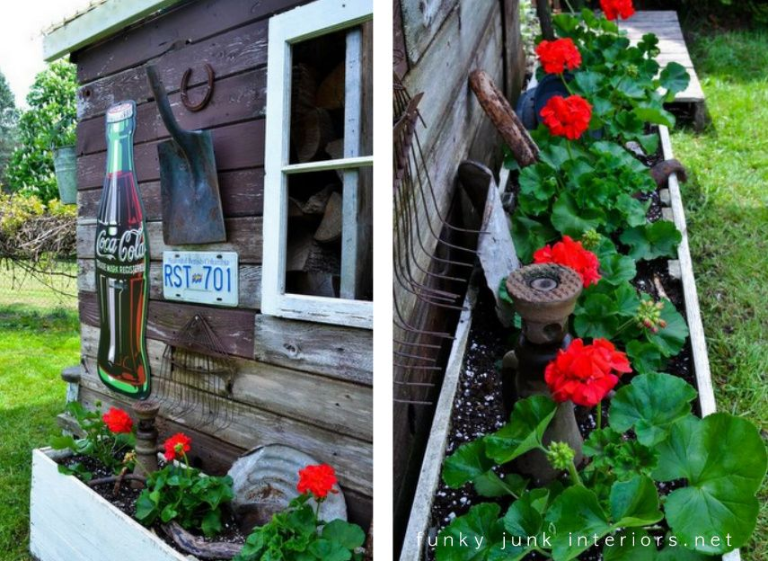 Great Junk Blog Lots Of Garden Junk Ideas