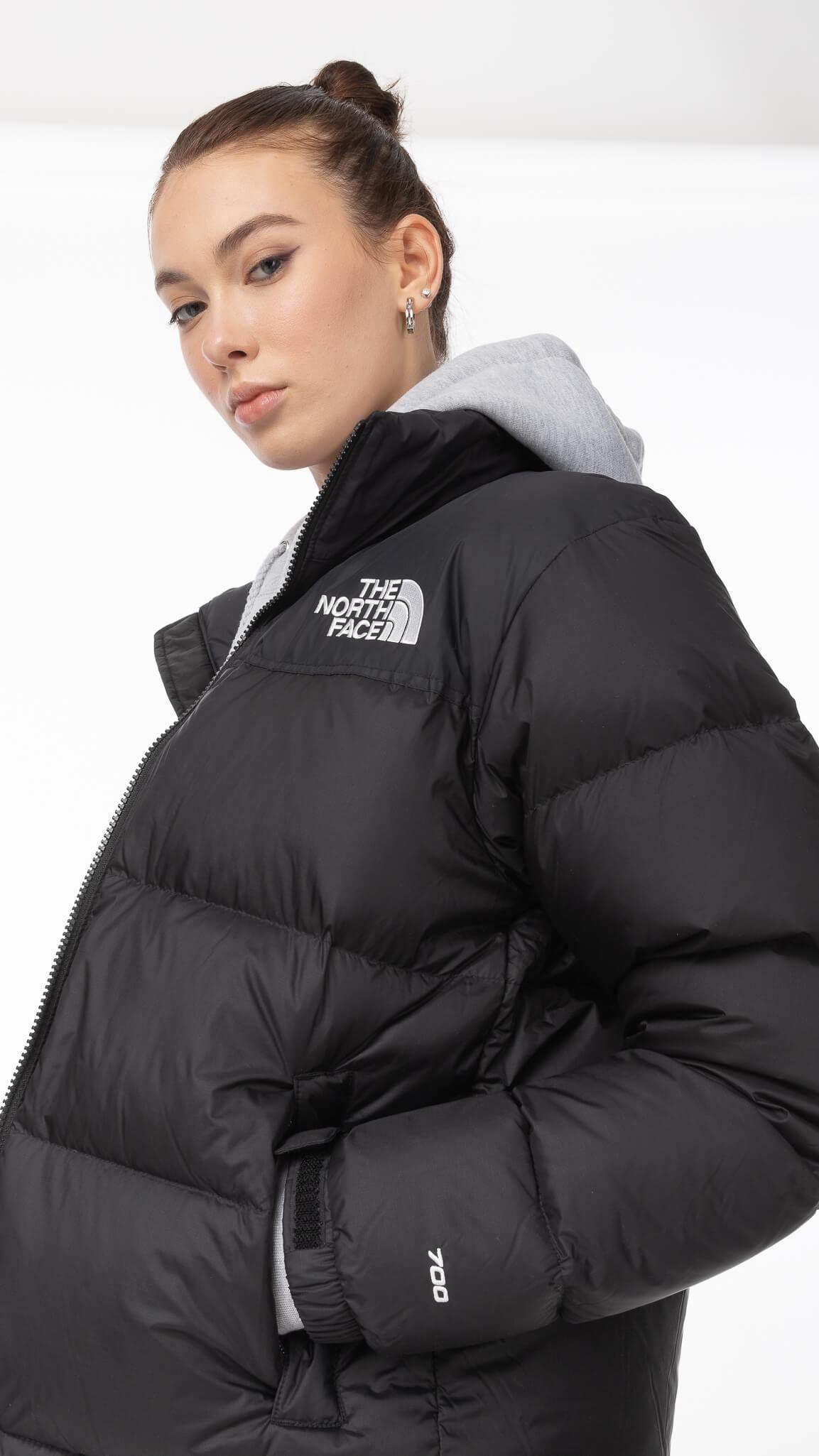 Black 1996 Retro Nuptse Jacket North Face Jacket Outfit North Face Puffer Black North Face Puffer [ 2050 x 1153 Pixel ]