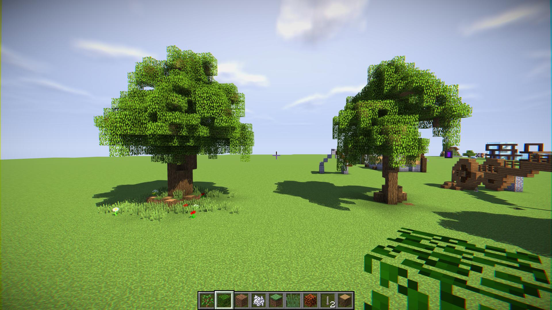 особняки картинка дерева из майнкрафта идеальный вариант