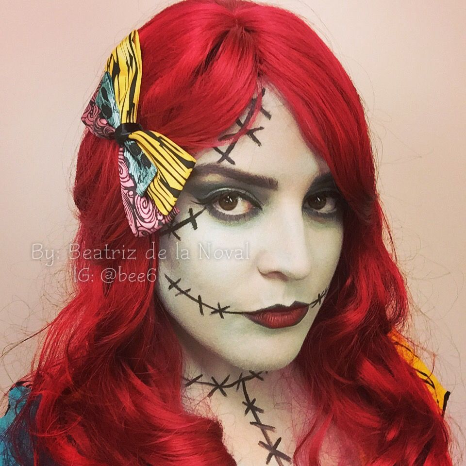 Sally Makeup from The Nightmare Before Christmas by