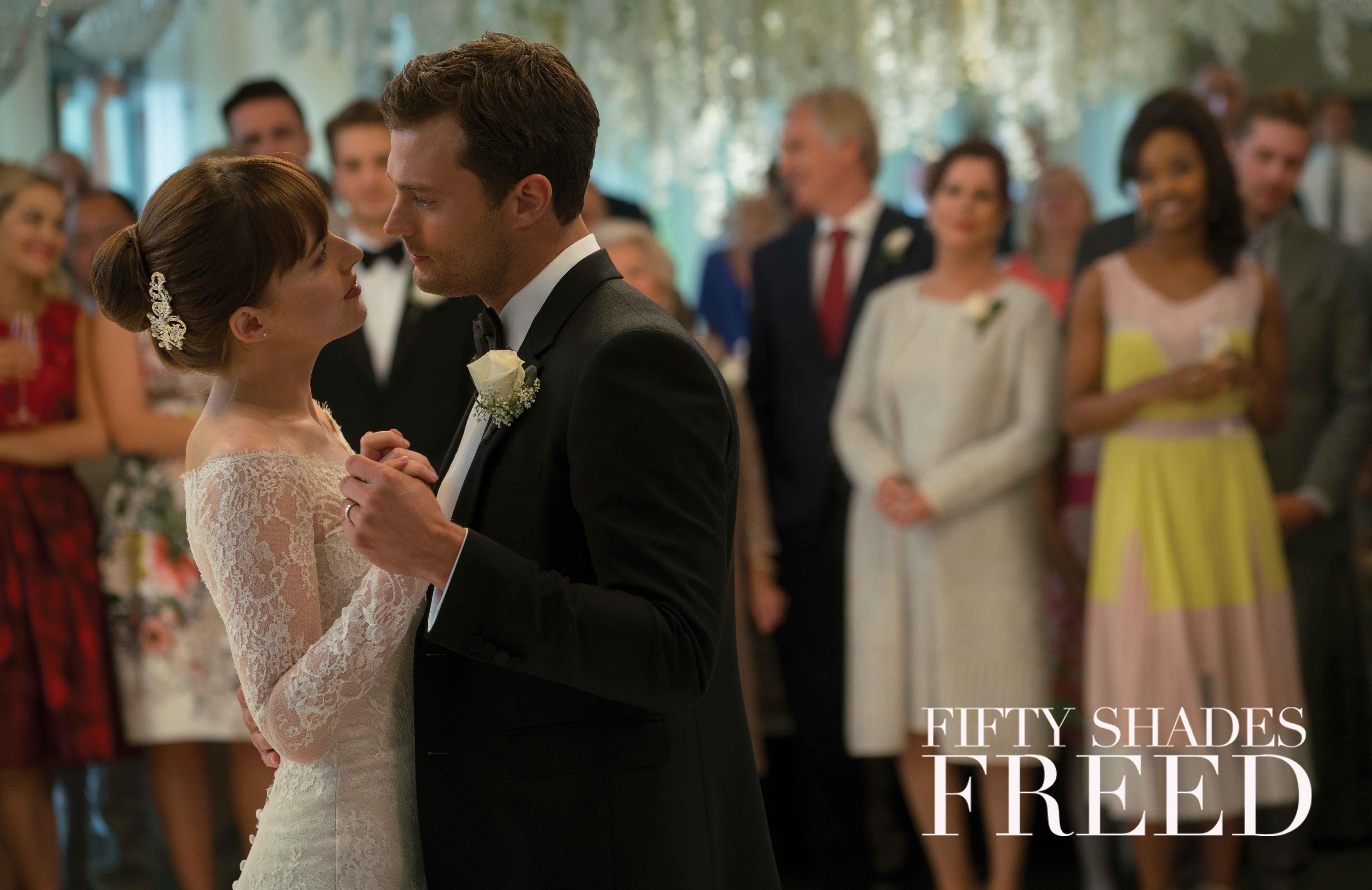 The Final Chapter Begins February 9 Fifty Shades Freed Fifty Shades Jamie Dornan Dakota Johnson [ 5160 x 7952 Pixel ]