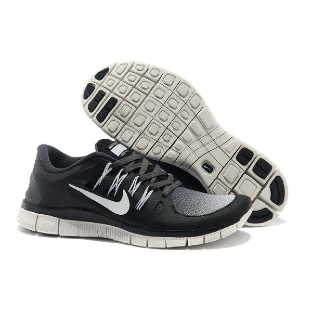 the best attitude e1e14 cc9ef Nike Free 5.0 V2 Mens Black Gradient White