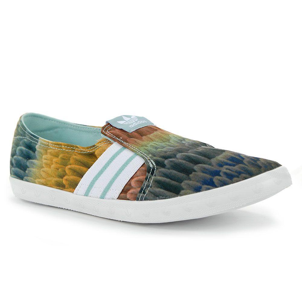Adidas Originals Adria Slip On M19533 Nueva Adidas zapatos planos de las