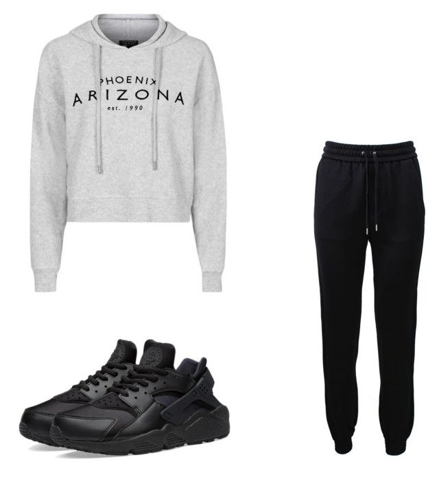 """""""Untitled #92"""" by amysonmaijah on Polyvore featuring Barbara Bui, Topshop and NIKE"""