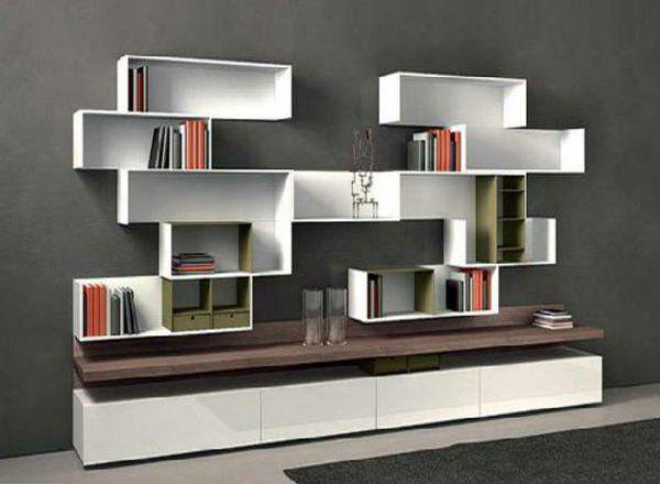 l 39 tag re murale design 82 id es originales deco chambre parents pinterest. Black Bedroom Furniture Sets. Home Design Ideas