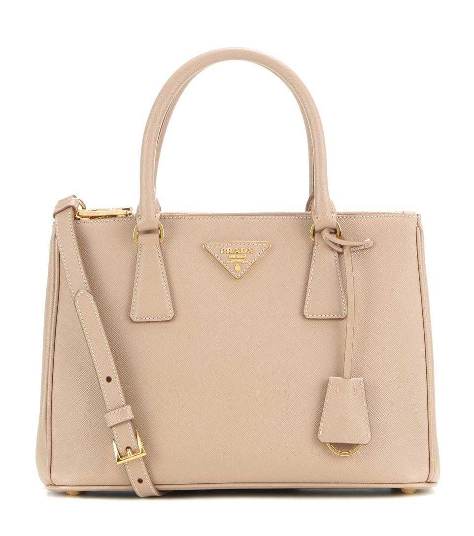 8e3cd21c5b4 PRADA Galleria Saffiano Small Leather Shoulder Bag. #prada #bags #shoulder  bags #hand bags #leather #lining #