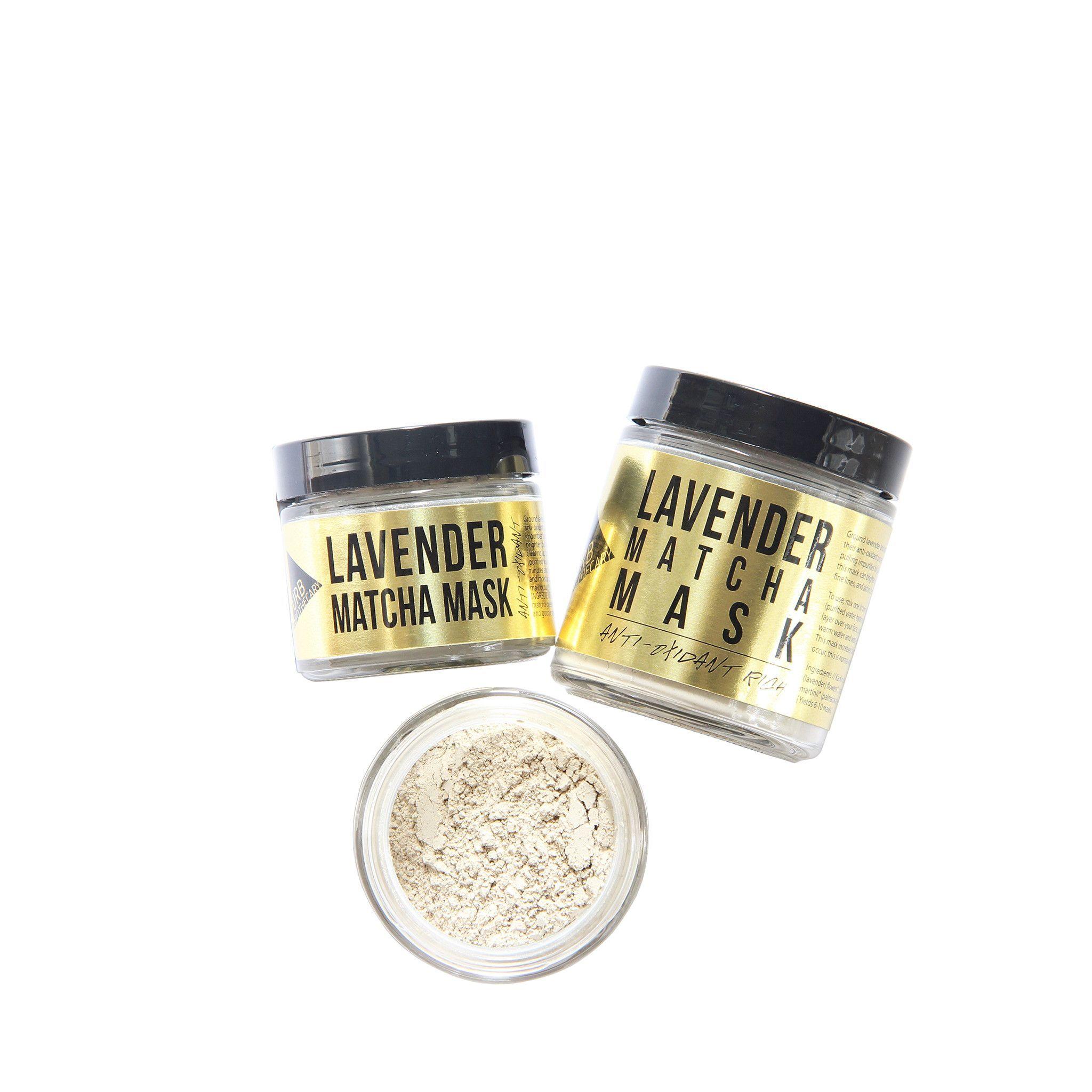 Lavender Matcha Mask