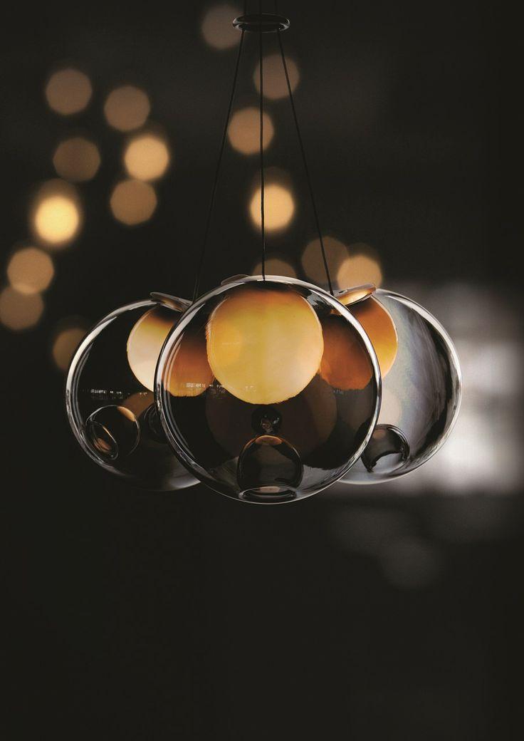 replica bocci 28 7 round pendant chandelier. Black Bedroom Furniture Sets. Home Design Ideas