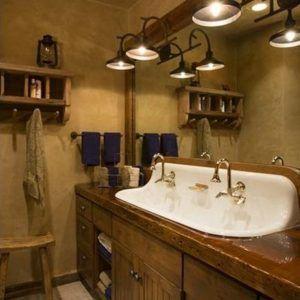 Rustic Bathroom Vanity Light Fixtures  Httpreformtherfs Enchanting Light Fixtures Bathroom Decorating Inspiration
