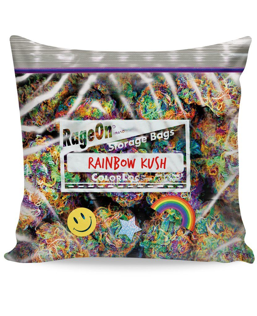 Weed Bettwäsche Rainbow Kush Weed Bag Couch Pillow