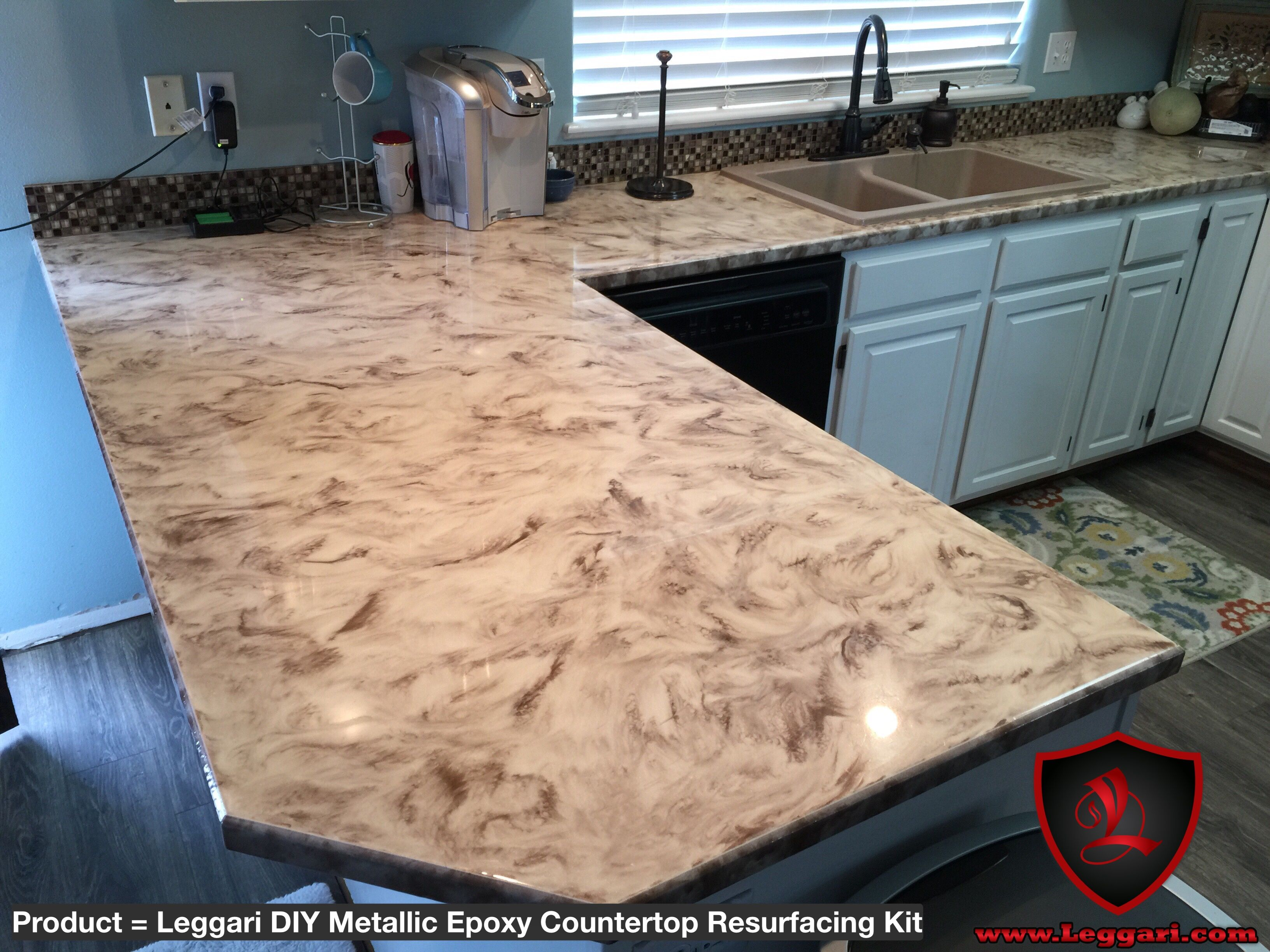 Our Diy Countertop Resurfacing Kits Are Easy To Apply Right