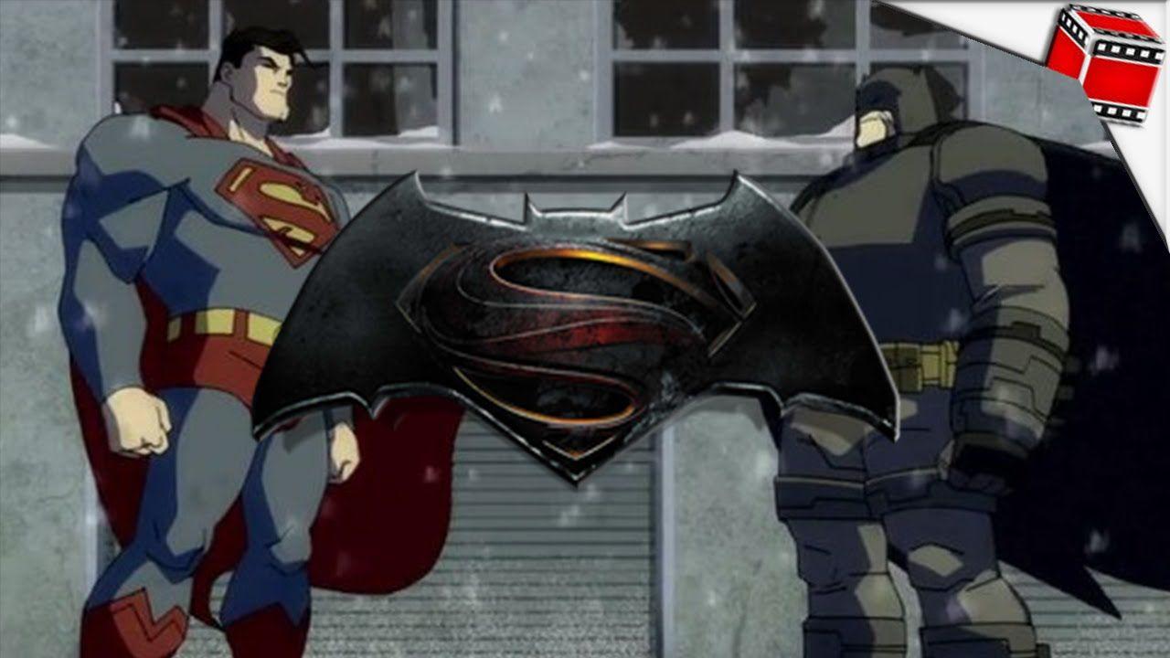Batman Vs Superman Nova Animacao Dublada Batman Vs Superman