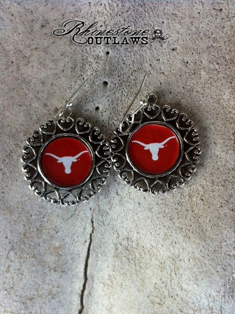 Texas Longhorns EarRings $12.50