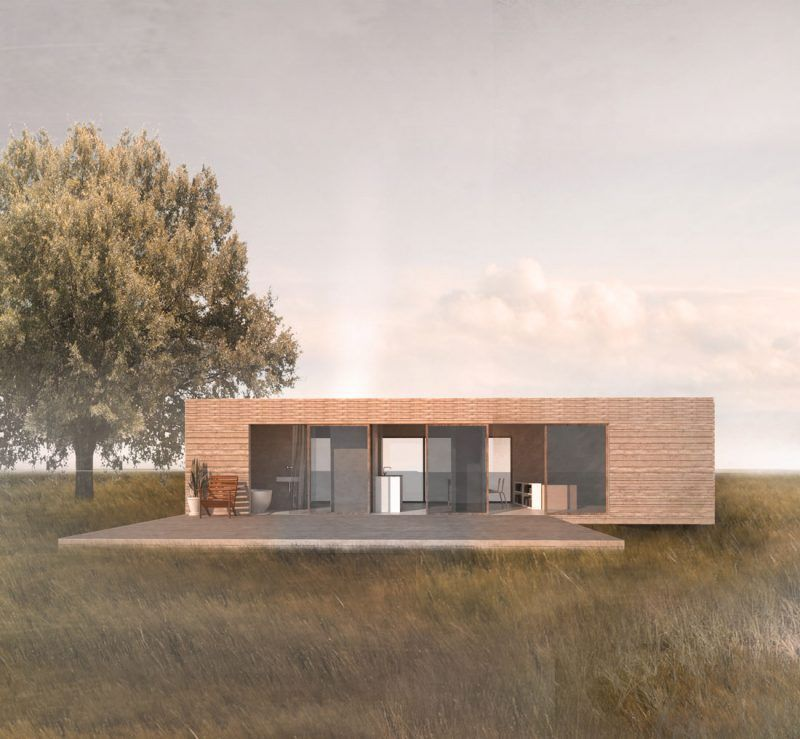 Container Haus Deutschland Prefabricated House Bungalow: Container Haus Kaufen Minimalismus
