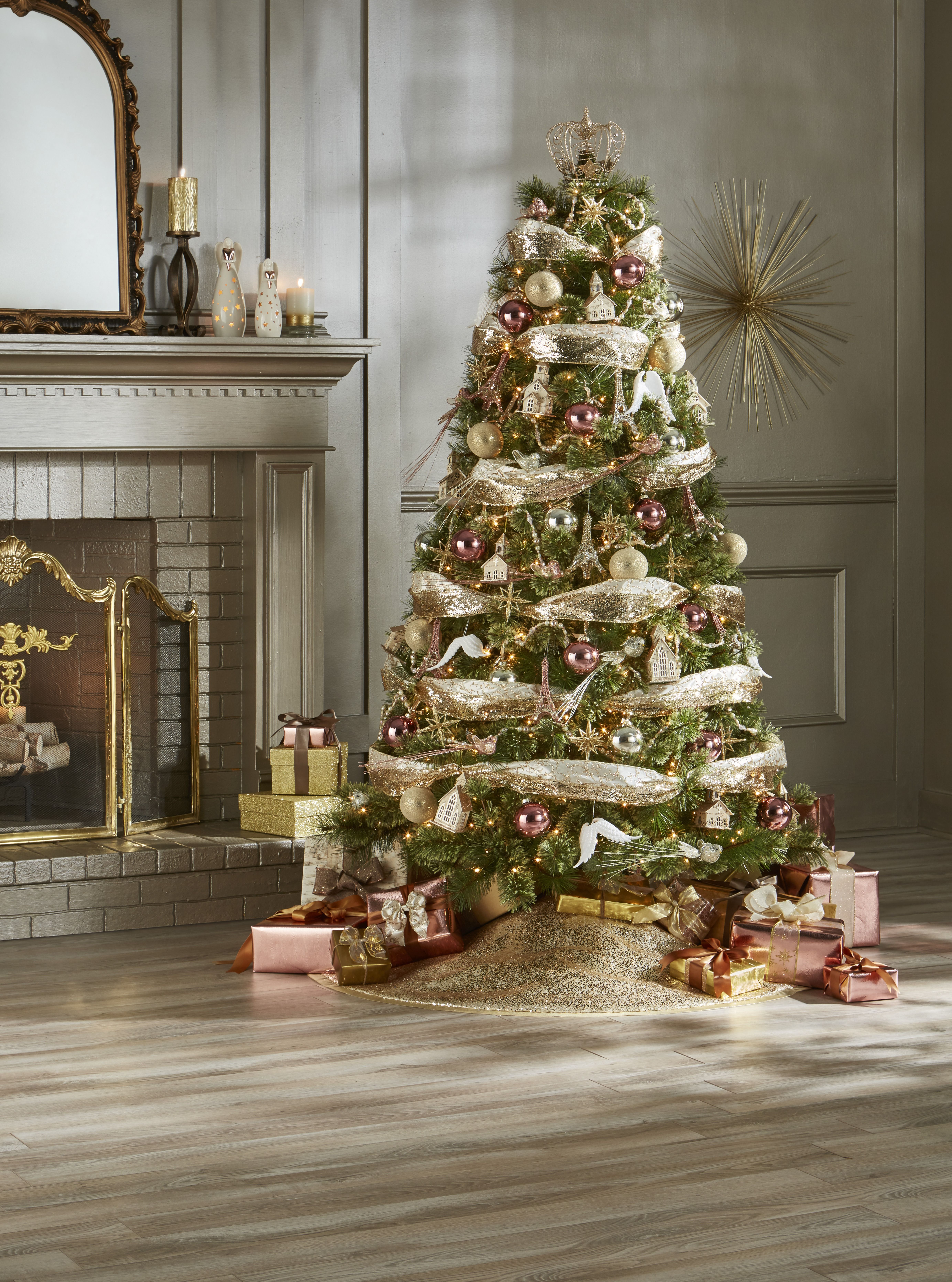 Jaclyn Smith Trim Kit Golden Radiance, Multi Holiday