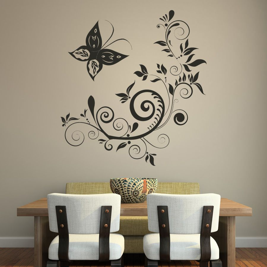 Painting walls ideas wall decals - Innovative Wall Decorating Ideas Boosting Interior Beauty Http Www Ruchidesigns