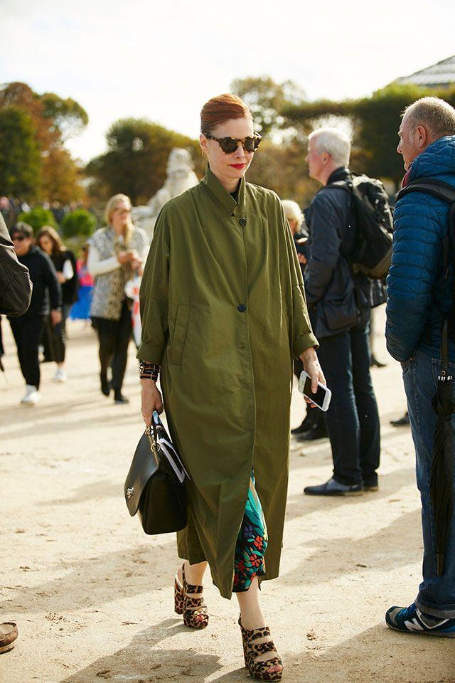 Неделя моды в Париже, весна-лето 2016: street style. Часть ...