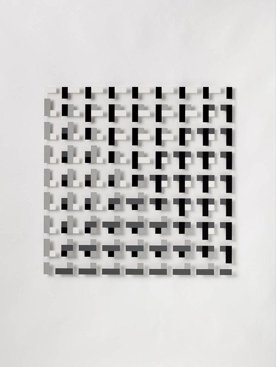 Peter Struycken Structuur XXXIX-'67 1967