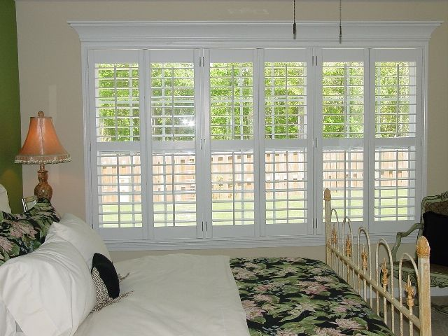 triple window curtains living room triple window plantation shutters google search house to