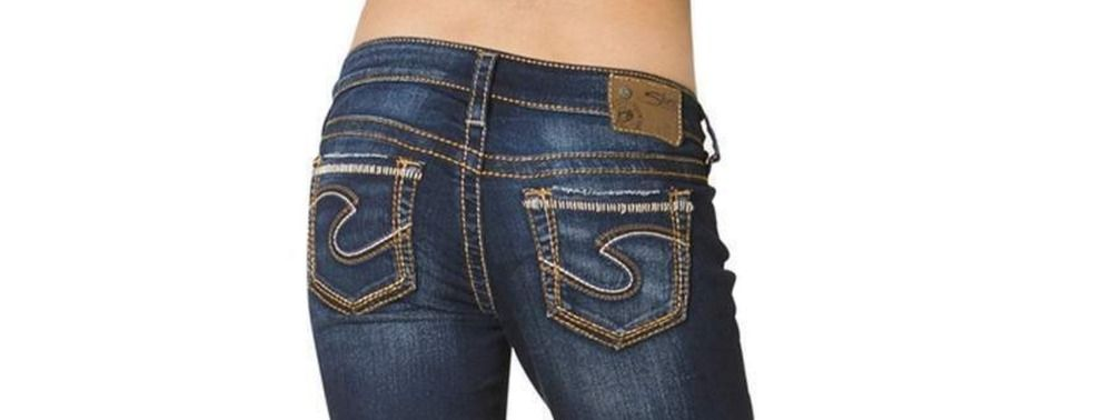 SILVER JEANS SALE Buckle Cheap Mid Rise Aiko Denim Jean Stretch ...