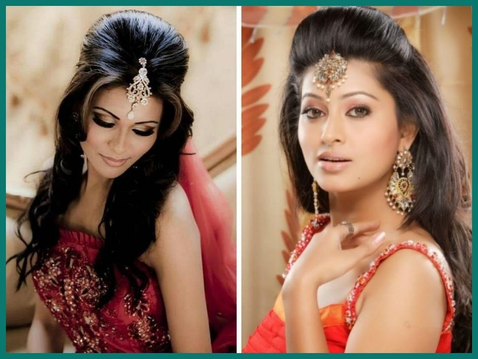 11 Best Simple Hairstyle For Indian Wedding In 2020 Medium Length Hair Styles Wedding Hairstyles For Medium Hair Indian Wedding Hairstyles