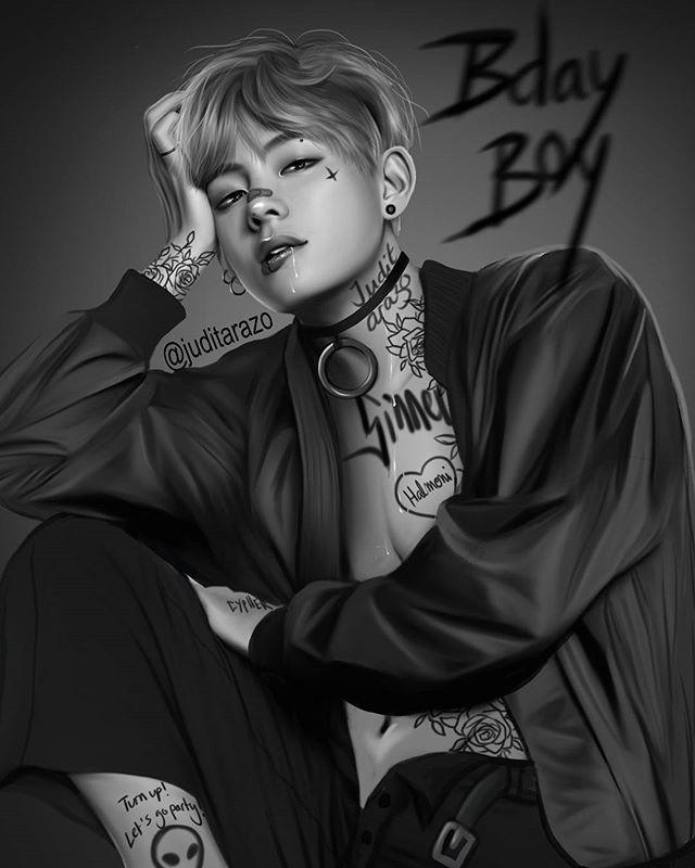 Tae And Jungkook Tattoo: Aaa Giết Chết Mẹ Em điiiiiii~~~~~ Vì Em íu đúi~~ Muôn đời