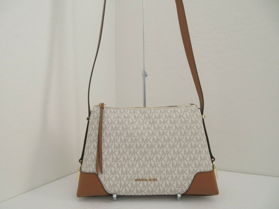 Michael Authentic Kors Messenger Signature Crosby Medium Nwt dCWoerBx