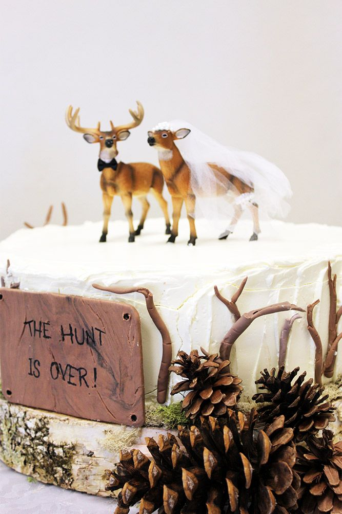 33 Must See Rustic Woodland Themed Wedding Cakes Themed Wedding