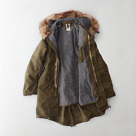Relwen Military Parka | Mens Coats | Steven Alan | Wear – Mountain ...