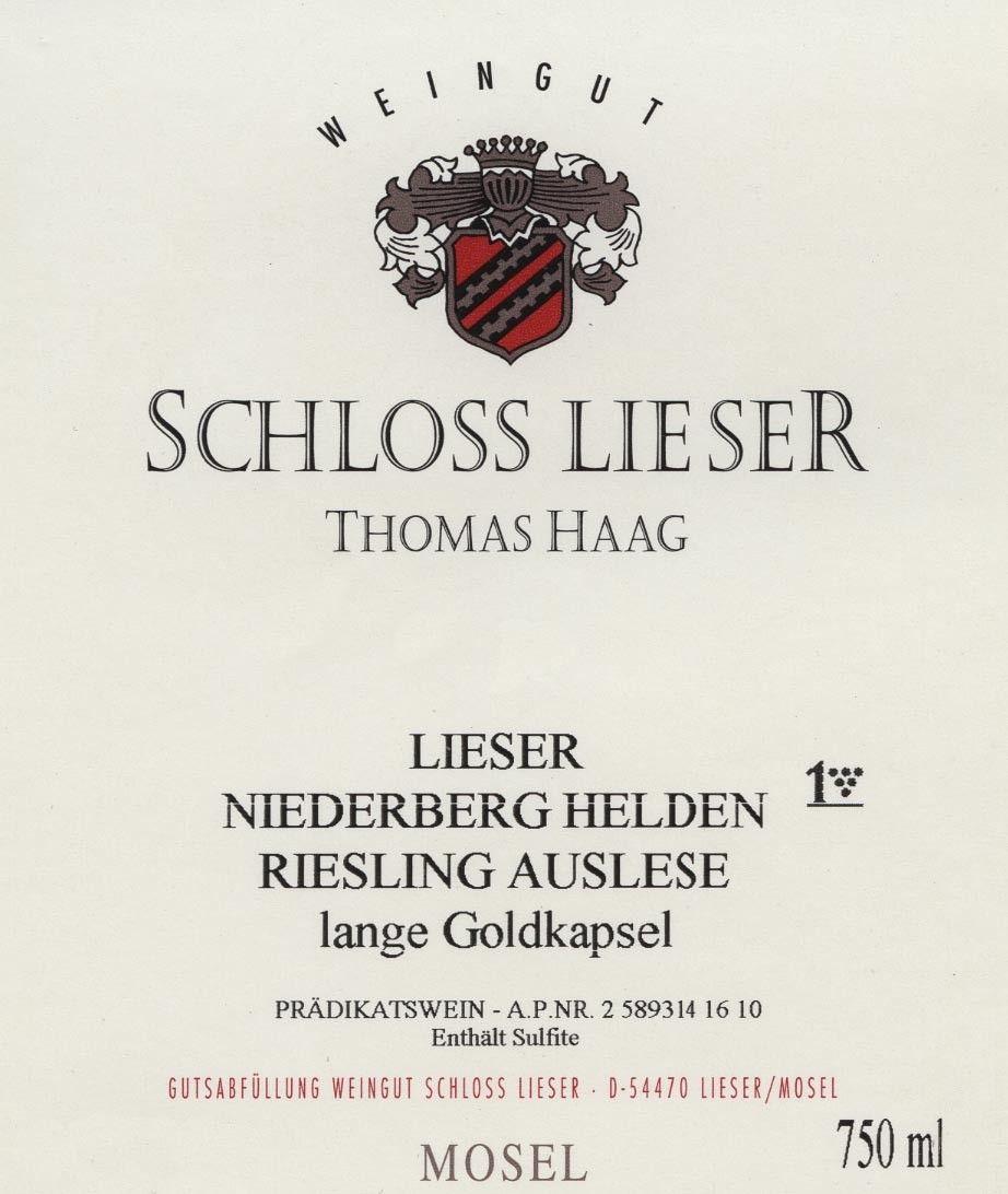 Niederberg Helden Thomas Haag / Schloss Lieser