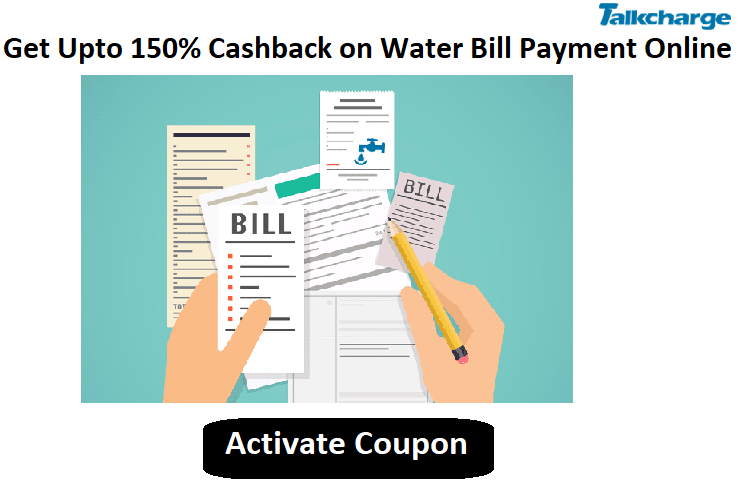 Pay DJB water bill payment online securely and also avail cashback