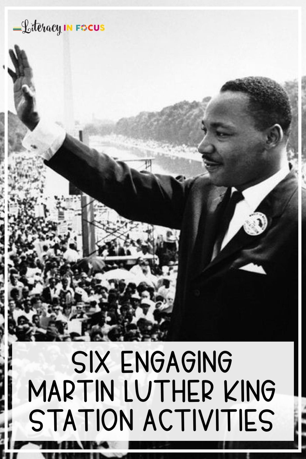 Celebrate Martin Luther King Day With Station Activities