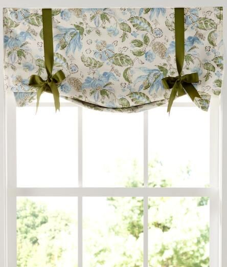 Madelyn Lined Tieup Valance Country Curtains Country Curtains