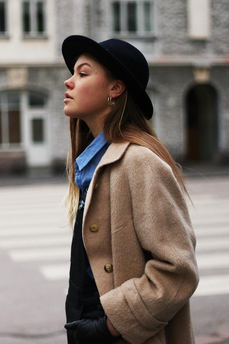 ALEXANDRA'S: DUNGAREES & WST Llama Wool Coat