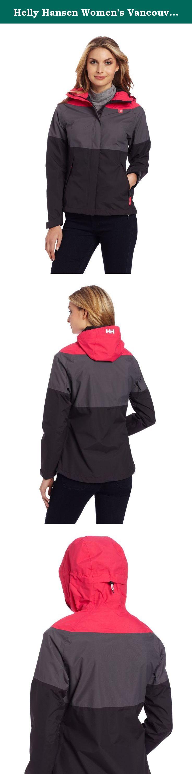 Helly hansen women's vancouver tricolor rain jacket