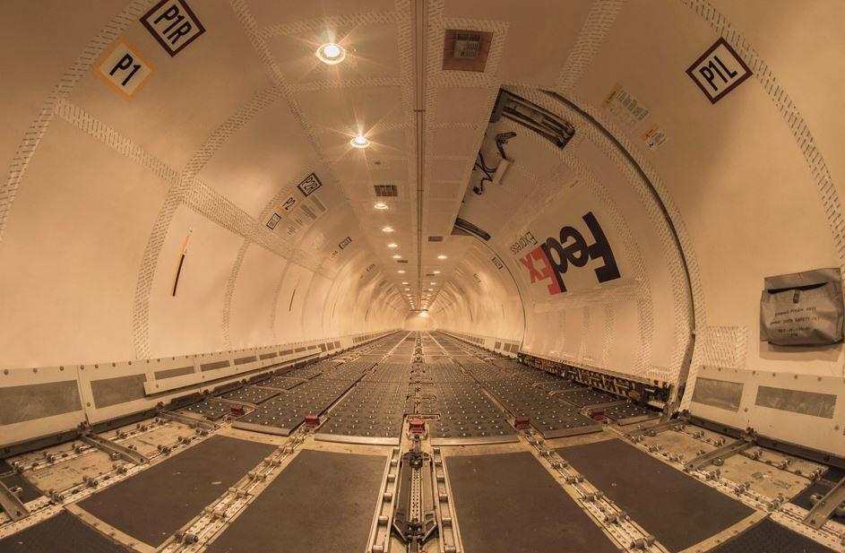 Inside A Fedex Cargo Plane Machine Aviation Photography