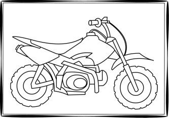 dirt bike coloring pages Coloring pages