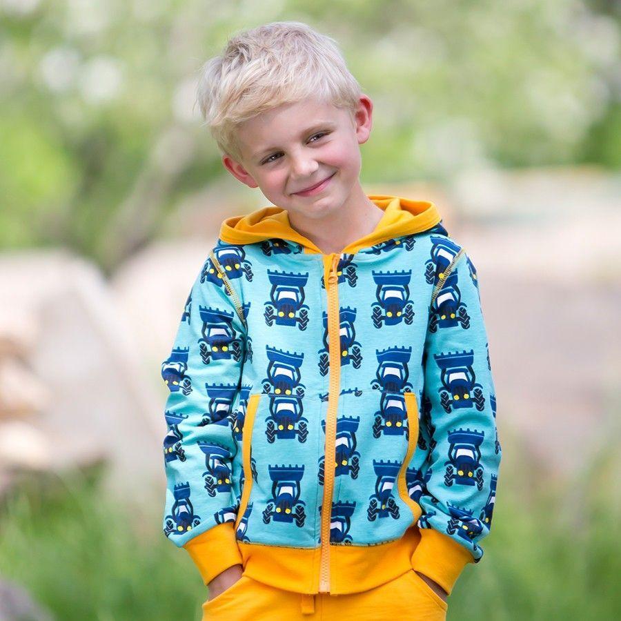 7ea0aaffa4e921 Coole Kinder Jacke für Drinnen und Draussen Traktor