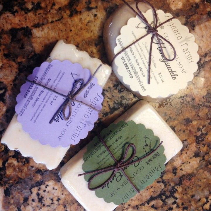 Goat's Milk Soap   from Saguaro Farms LLC for $8.00