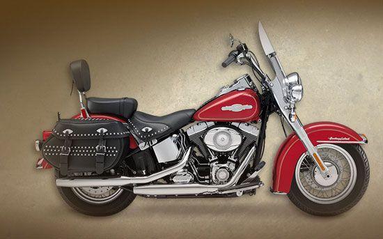 2009 Harley Davidson Firefighter Heritage Softail Classic Purple Motorcycle Softail Harley Davidson