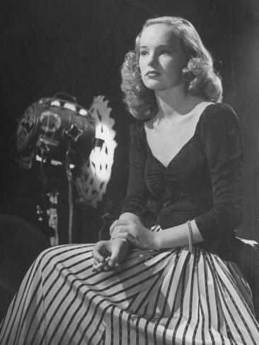 Portrait of Actress Peggy Cummins