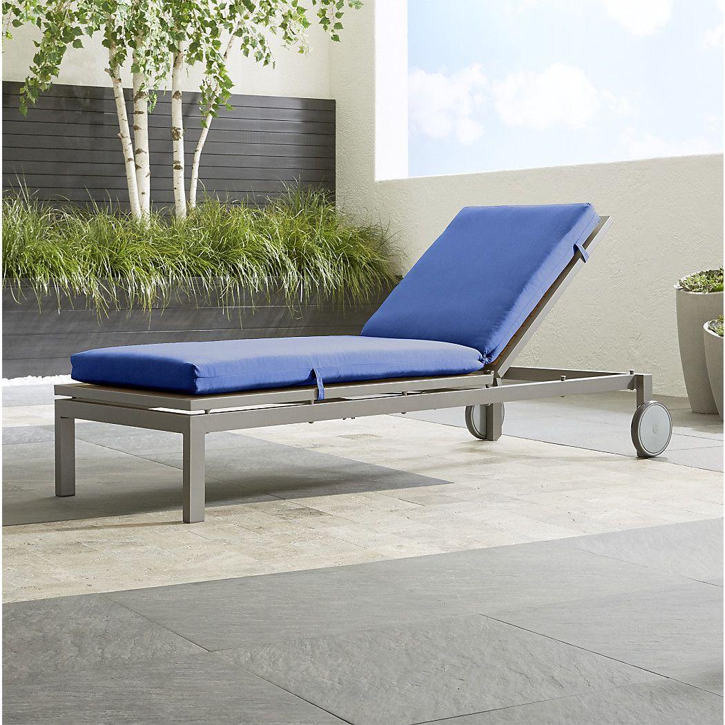 Shop Alfresco Natural Chaise Lounge with Sunbrella ® 3