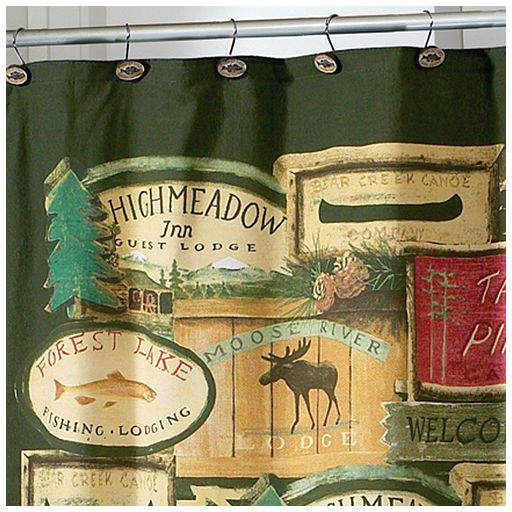 Avanti Rather Be Fishing Shower Curtain Products In 2019
