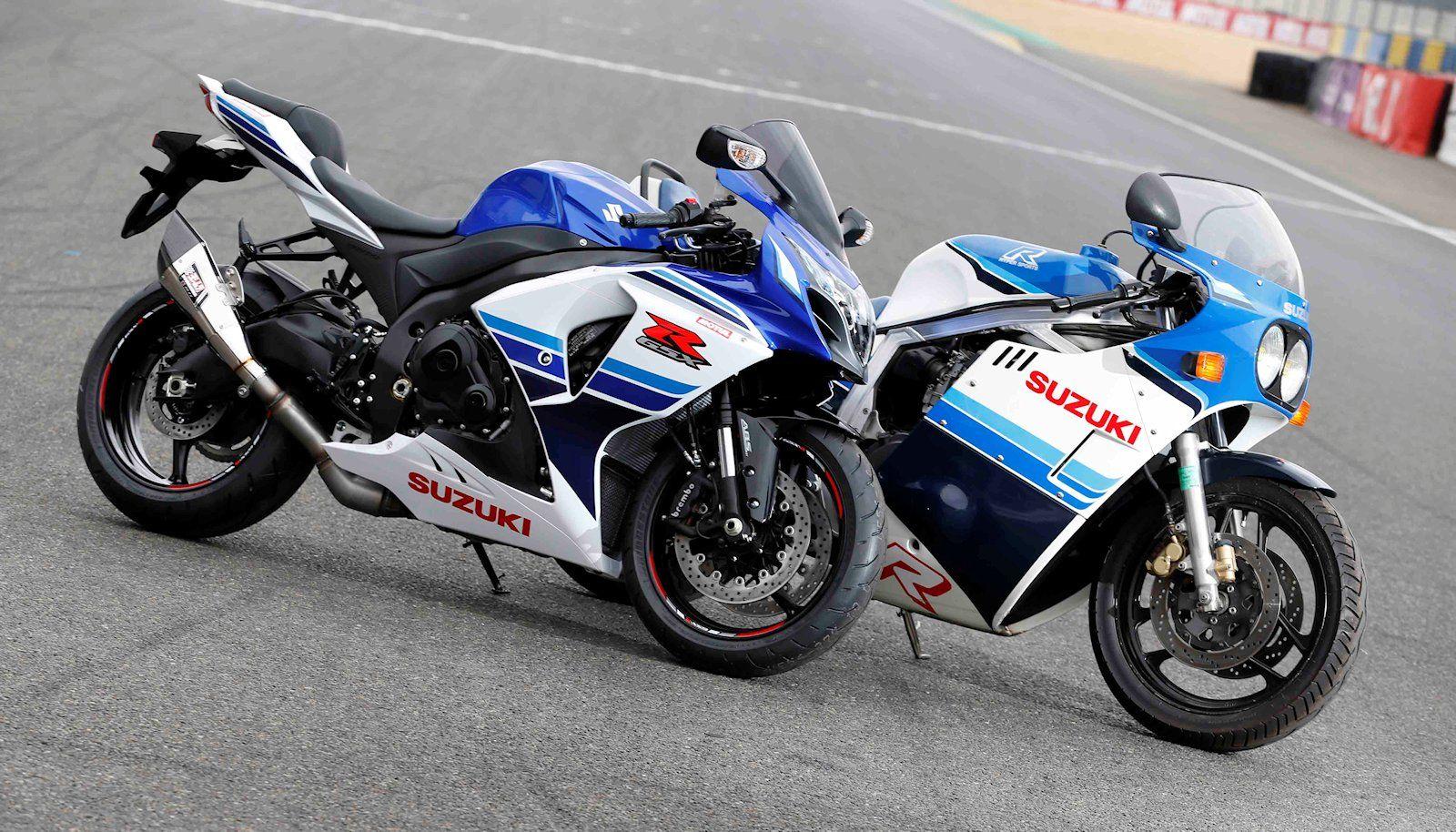 Suzuki GSX-R 1000 30th anniversary and GSX-R 750 | bike | Pinterest ...