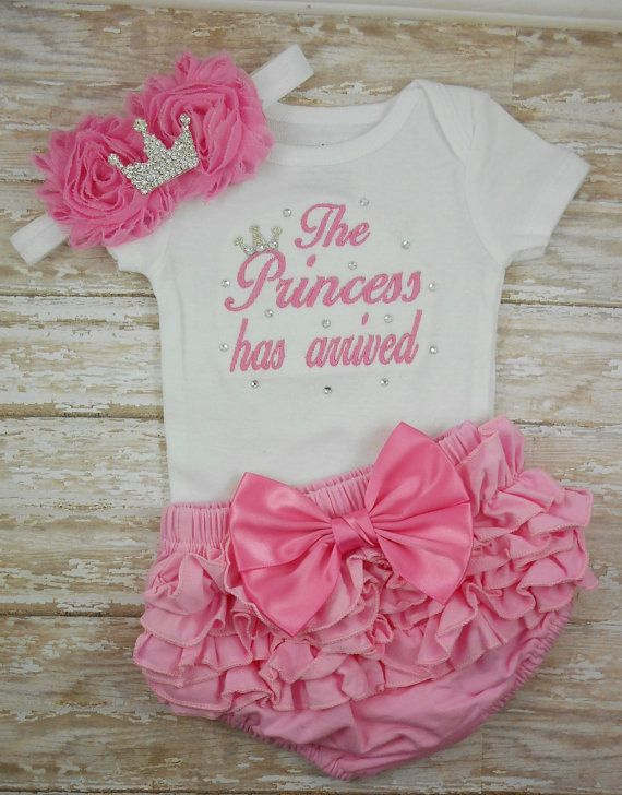 Newborn girl take home outfit Baby girl coming by LittleQTCouture