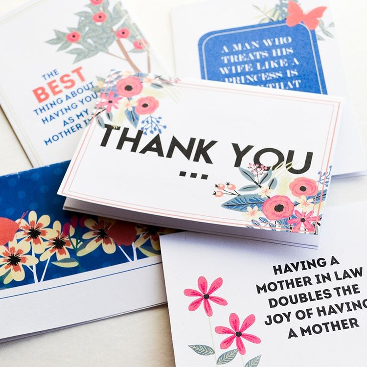 5 Cute Cards for Your MotherinLaw Mothers day cards