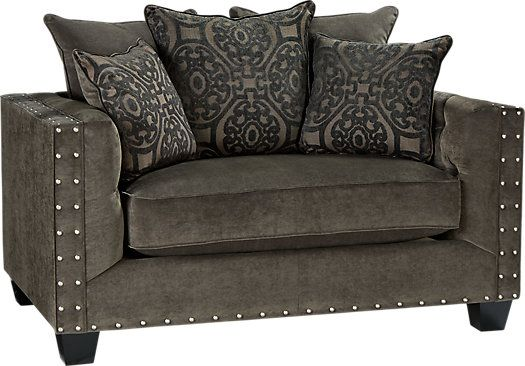 shop for a cindy crawford home sidney road gray chair at rooms to go find